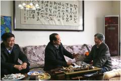 省委高校工委 省千亿国际平台开展慰问老干部活动